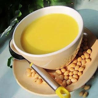 Sữa bí ngô đậu nành bổ dưỡng dễ làm 1