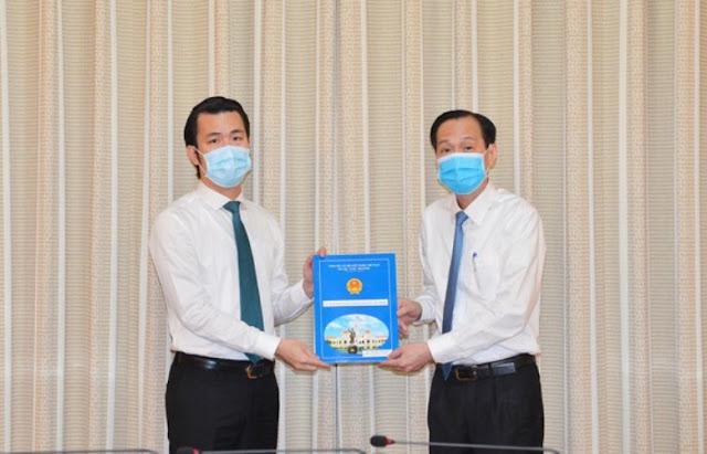 Trương Tấn Sơn con ông Trương Tấn Sang giữ chức Phó Chủ tịch quận Tân Bình