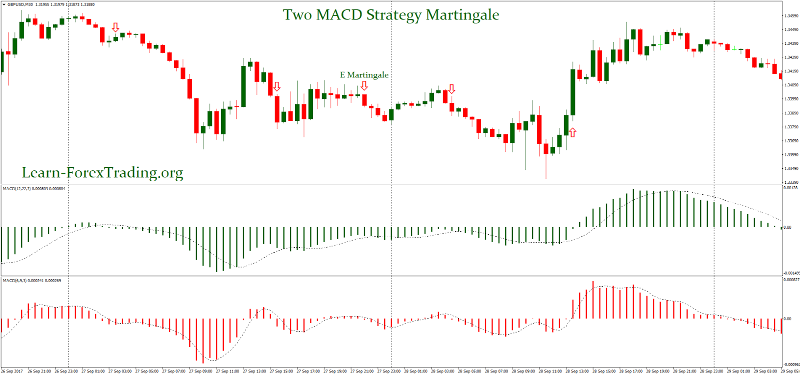 Two MACD Strategy Martingale | Learn Forex Trading