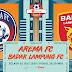 Bungkam Badak Lampung, Arema FC Raih 3 Kemenangan Beruntun
