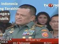 Panglima TNI : Ada Konspirasi Global dan Bahaya Kuning Terhadap kedaulatan NKRI