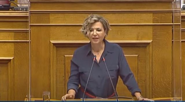 Όλγα Γεροβασίλη για το χουντικής κοπής νομοσχέδιο: Απόπειρα λοβοτομής ενός ολόκληρου λαού – VIDEO