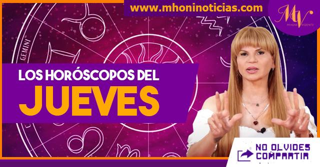 Los horóscopos del JUEVES 29 de JULIO del 2021 - Mhoni Vidente