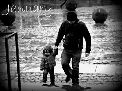 Coventry Cathedral Rain Boy Daddy