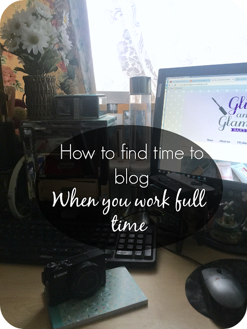 How to find time to blog when you work full time