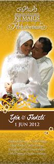 20 contoh bunting perkahwinan