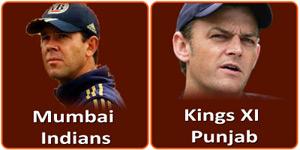 किंग्स एलेवन पंजाब बनाम मुम्बई इंडियन्स 18 मई 2013 को है।
