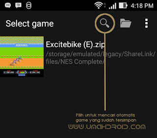 memainkan game nintendo di hp android