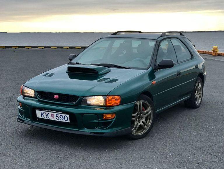 Subaru Impreza Turbo Estate WRX STI