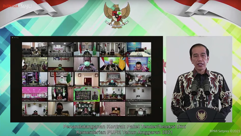 Jokowi Instruksikan Kementerian PUPR Kerja Cepat Tanpa Abaikan Tata Kelola