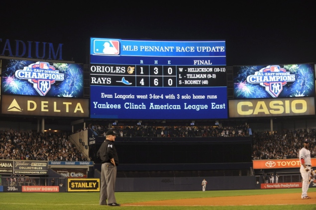 XM MLB Chat: Yankees win AL East, fans celebrate in 7th inning  Yankees