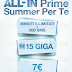 3 Italia ALL-IN Prime Summer offre minuti illimitati, 500 SMS e 15 GB con Giga Bank a 7€ invece di 14€!