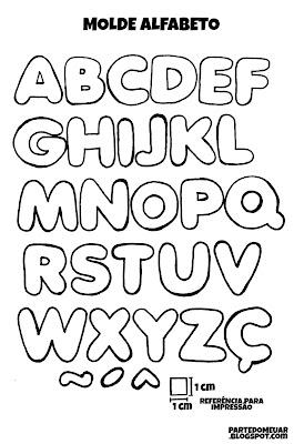 Molde alfabeto