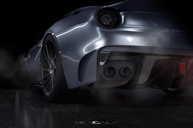 The Bengala F12 Caballería: for when a simple F12 is not exclusive enough