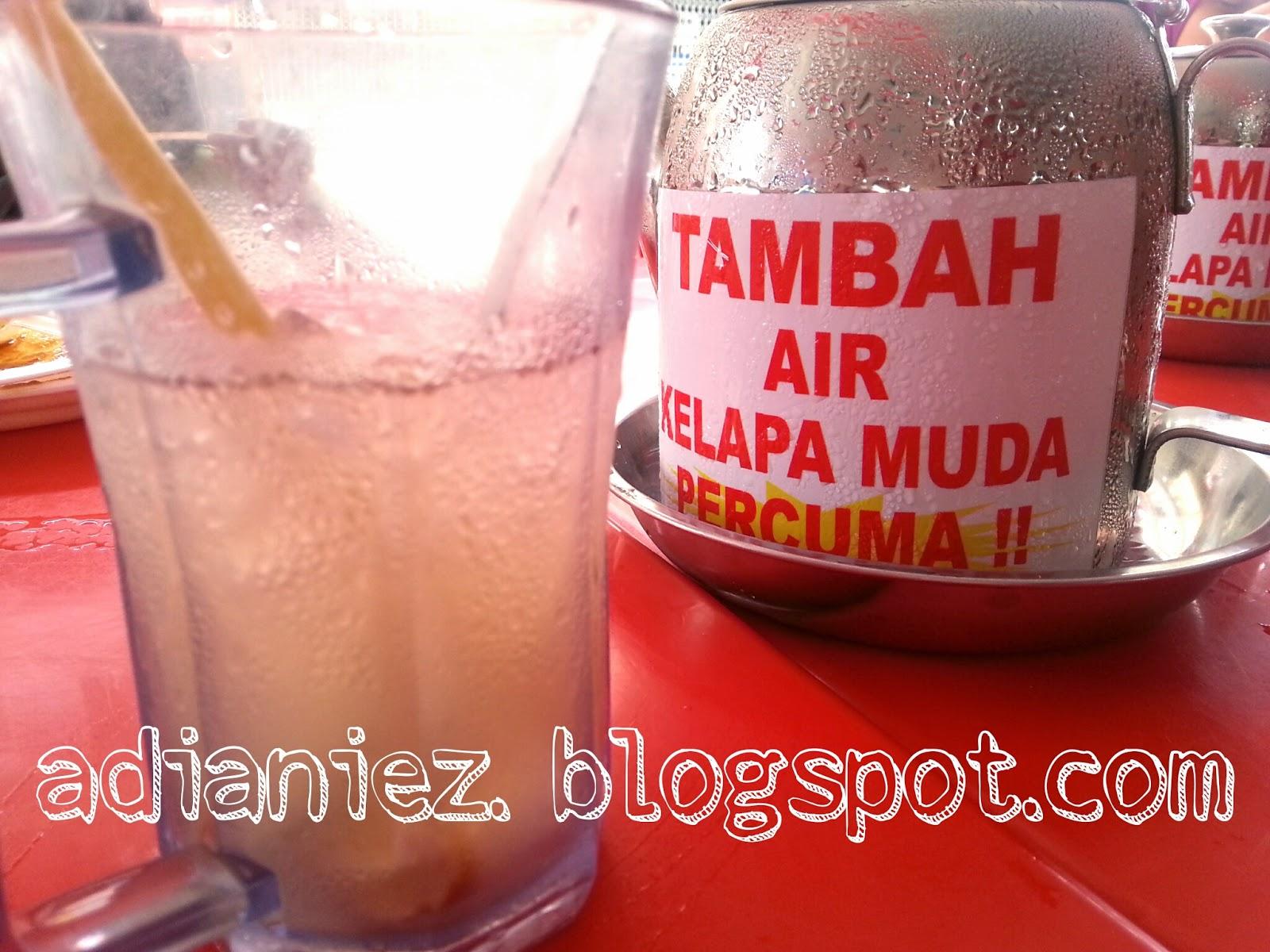 COCONUT SHAKE BATU BERENDAM ~ AIR KELAPA MUDA FREE :)