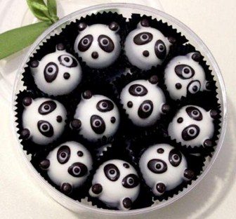 aneka resep kue dan camilan rumahan: Kue Cokelat Panda ...