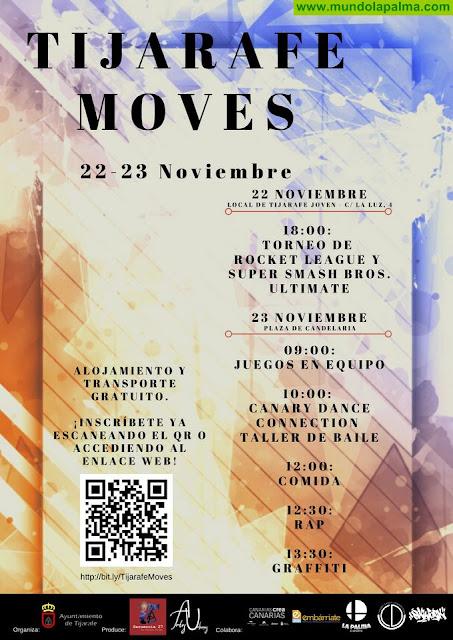 """Tijarafe acoge el evento juvenil """"Tijarafe Moves"""""""