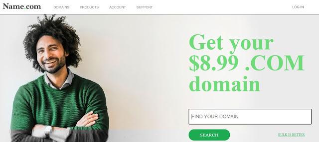 Free Name.Com Domain name