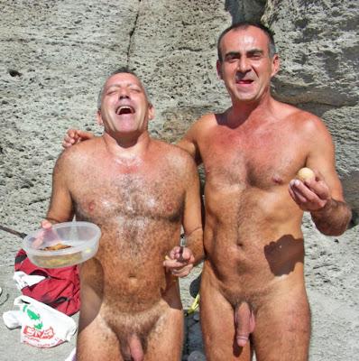 hairy nude american men