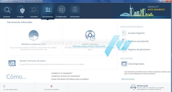 GridinSoft Anti-Malware Versión 4.1.38.4888 Full Español
