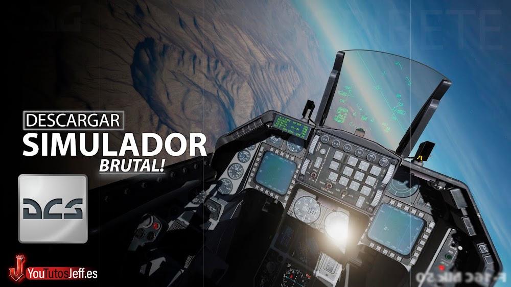 Simulador de Combate Aéreo, Descargar DCS World para PC Gratis