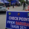 Daftar Kota PPKM Level 4 Hingga 9 Agustus di Pulau Jawa-Bali