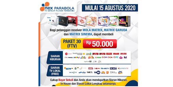 Paket FTV Nex Parabola Terbaru
