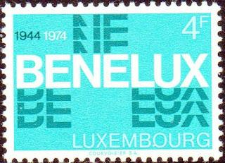 Luxembourg 1974 Benelux