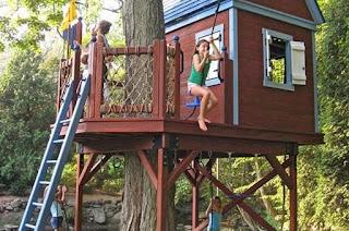 taman rumah pohon