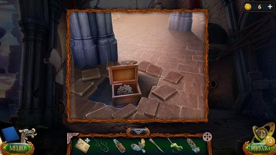 символ в ящике в полу в игре затерянные земли 4 скиталец
