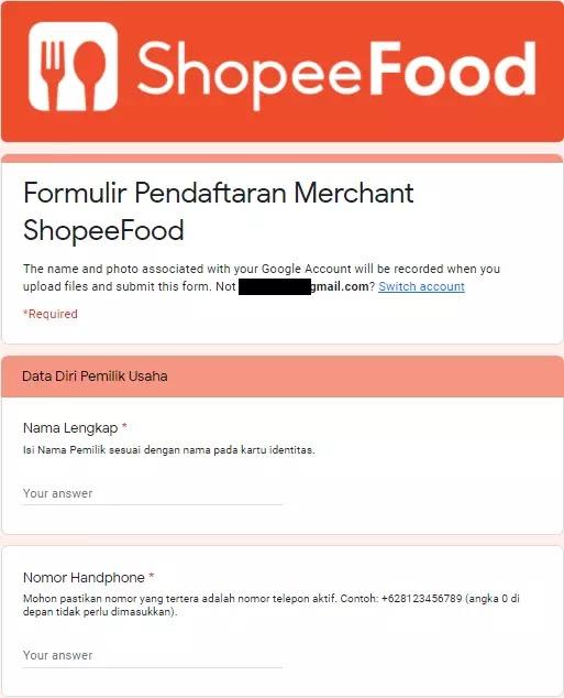 Cara Daftar Shopee Food (Merchant)-1