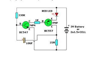 Rangkaian Transistor Tester