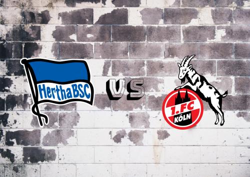Hertha BSC vs Köln  Resumen