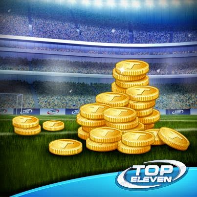 a Top Eleven Be a Football Manager Token Hile
