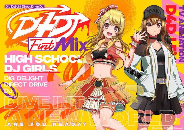 Anime D4DJ First Mix se estrenará en la temporada de otoño
