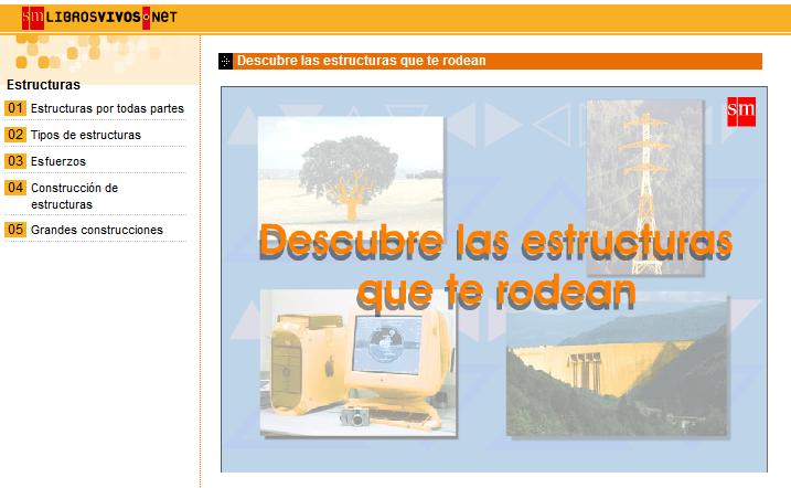 Estructuras animaciones tecnolog a e inform tica - Estructuras libros vivos ...