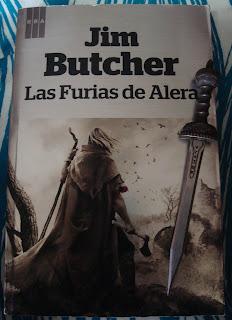 Portada del libro Las furias de Alera, de Jim Butcher