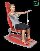 Тренажер збільшує витривалість м'язів грудної клитини і плечового поясу