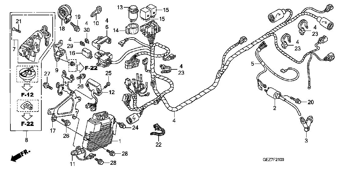 ruckus tail light wiring diagram