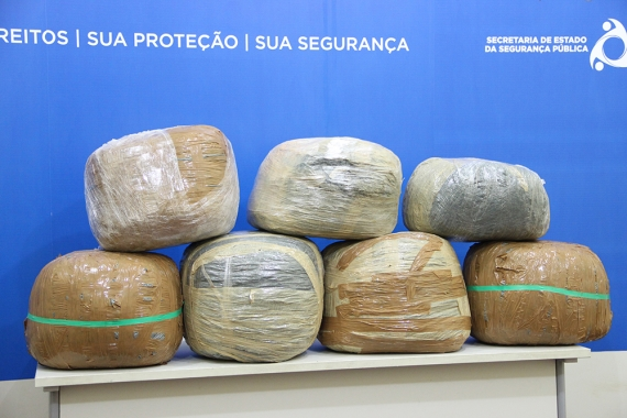 Polícia Civil apreende cerca de 70kg de maconha em Socorro PC apreende cerca de 70kg de maconha em Socorro