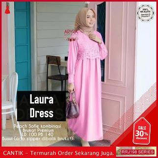 Jual RRJ198D163 Dress Laura Dress Wanita Vg Terbaru Trendy BMGShop