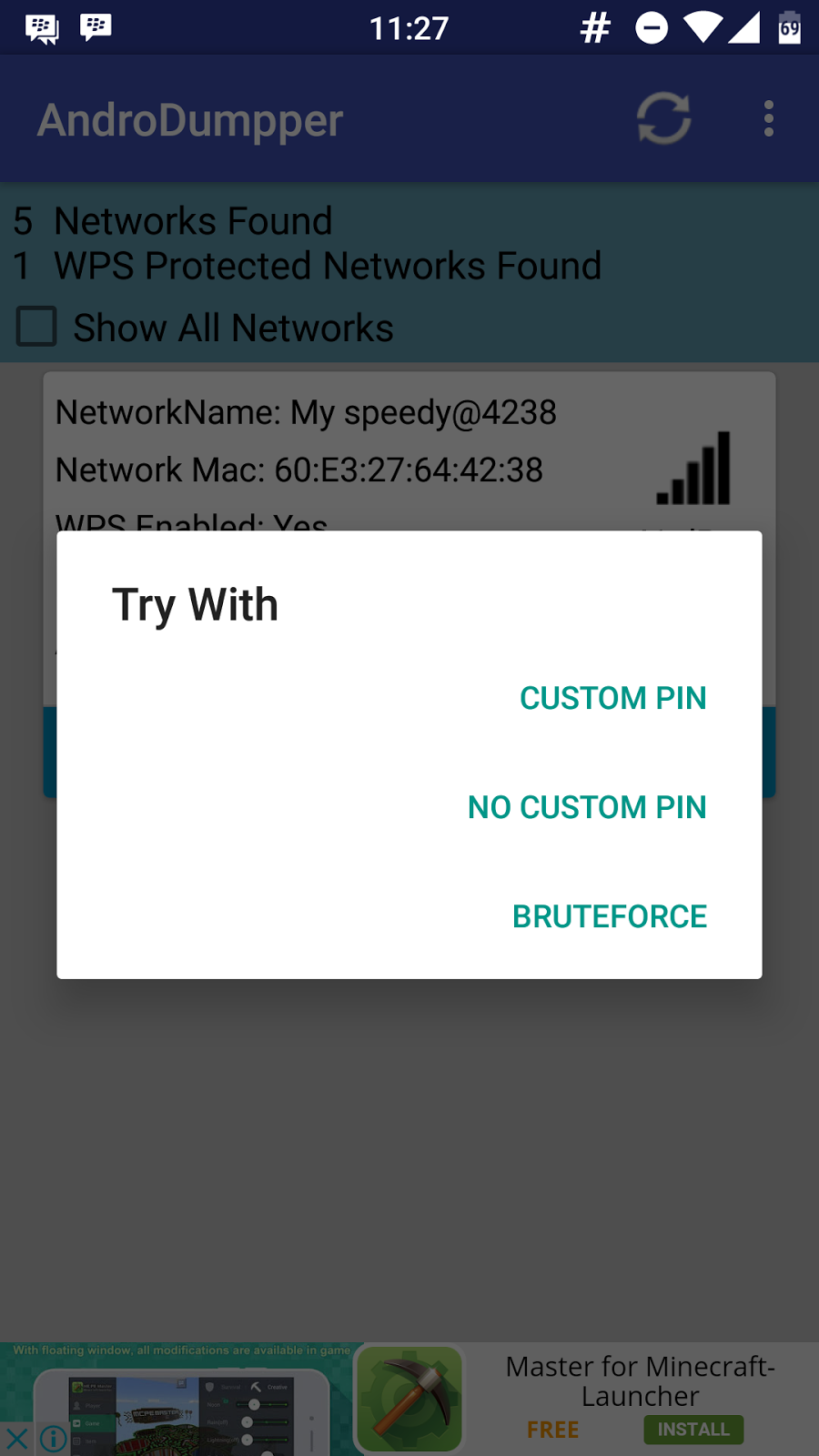 How To] Crack WiFi Password Using AndroDumpper (for Android