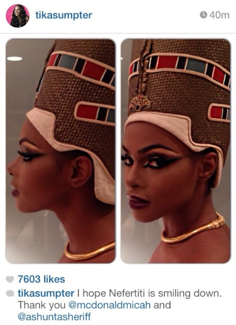 God is a Black Woman - Nefertiti.  PYGear.com