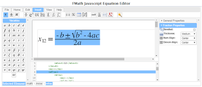 Javascript Math Editor - version 2.0 - free to download