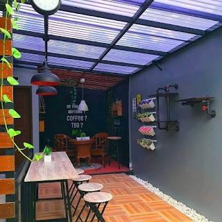 Idea landskap ruang belakang rumah!