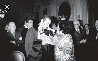 الملك محمد السادس  نصره الله كان مثالاً يحتذى به بين طلبة الجامعة