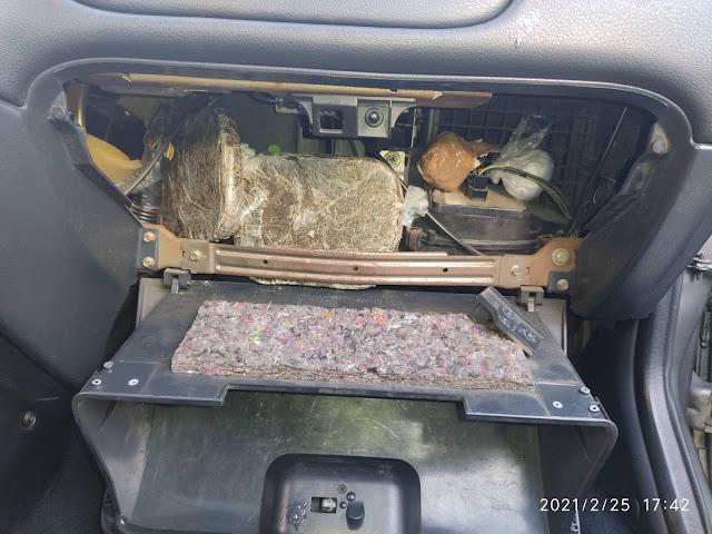 Σύλληψη στα διόδια Αρκαδίας - Είχε σε αεραγωγό του αυτοκινήτου 1 κιλό ηρωίνη