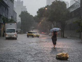 Defesa Civil emite alerta para chuvas no estado de São Paulo