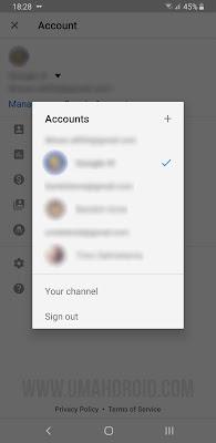 Logout Akun YouTube Versi Baru HP Android