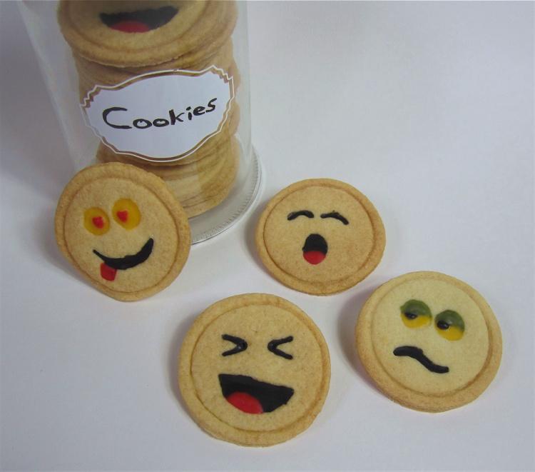 Smilie-Cookies